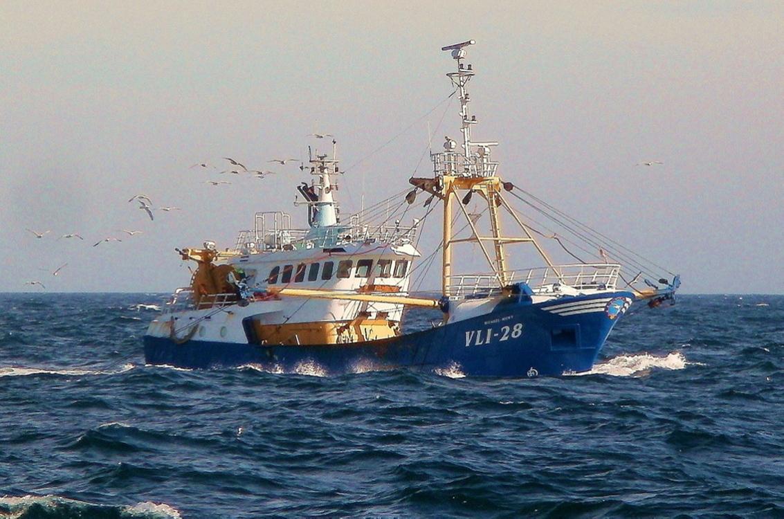 Шведское рыболовное судно