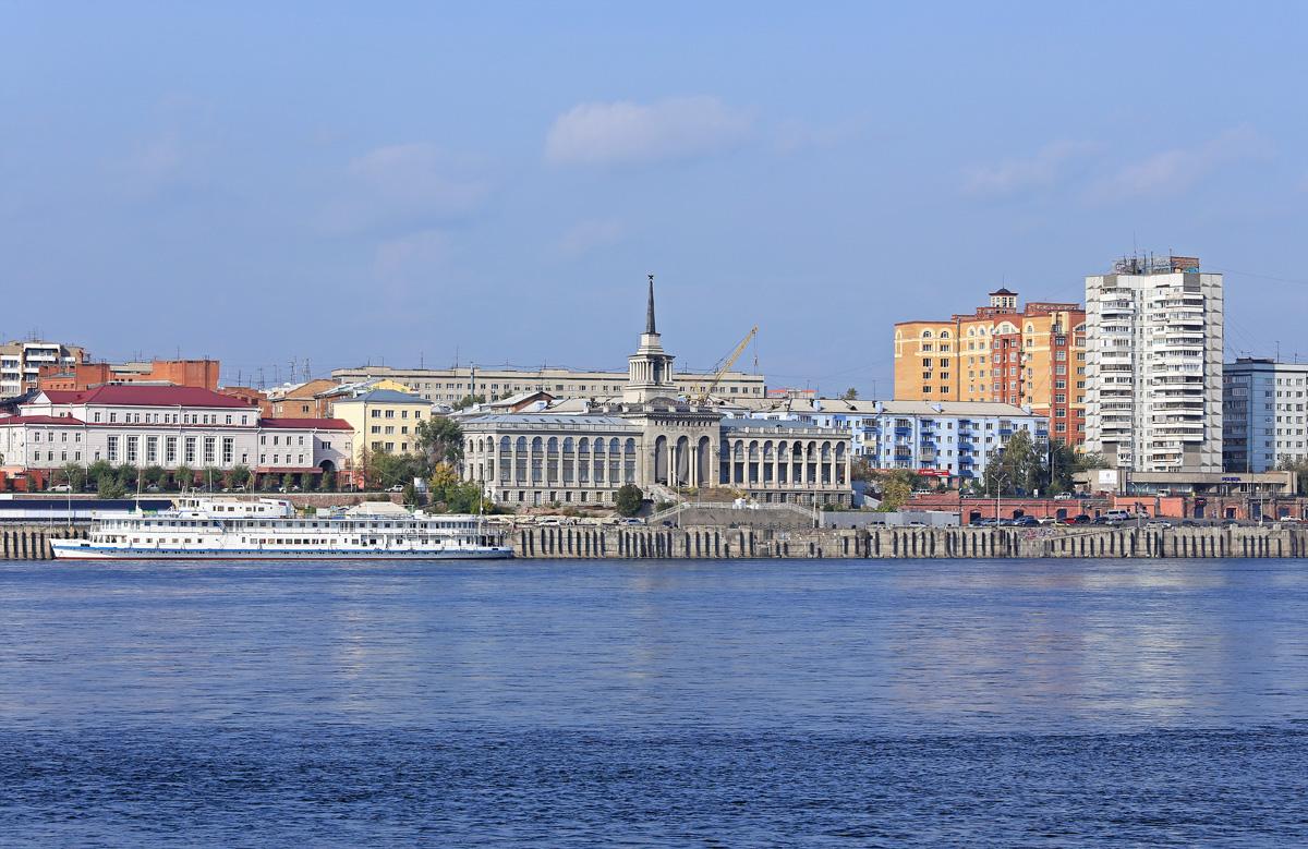 частности речной вокзал красноярск фото росла