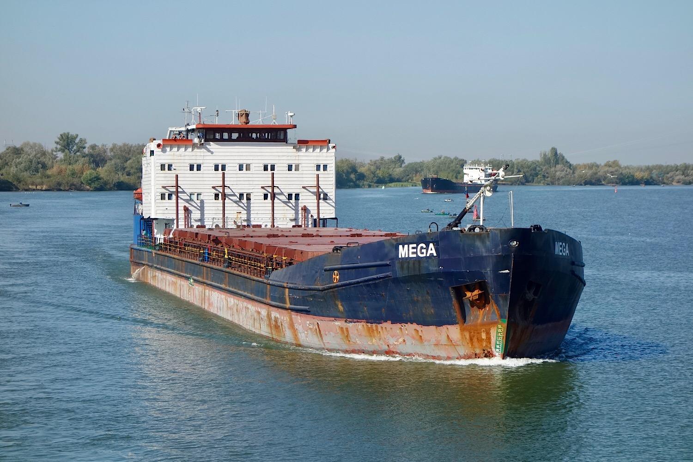 Фото сухогрузного корабля